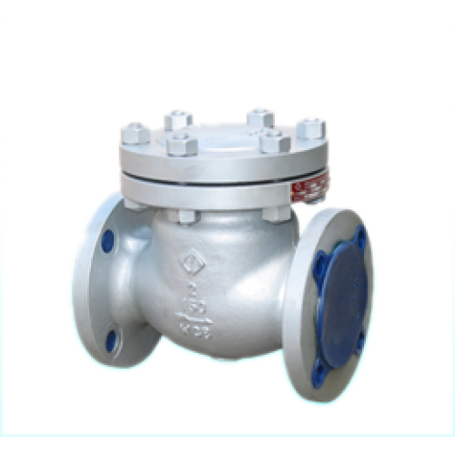 1-way valve steel, flange